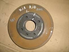 Диск тормозной передний вентилируемый KIA RIO 2012 (Диск тормозной передний вентилируемый) [517120U000]