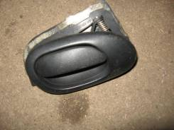 Ручка двери внутренняя левая Peugeot 206 1998-2012 (Ручка двери внутренняя левая) [9143A4]