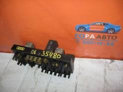 Блок предохранителей Audi 80 / 90 B3 1986-1991 Audi 100 / 200 (44) 1983-1991; Audi 80 / 90 (B3) 1986-1991; Audi 80 / 90 (B4) 1991-1994; Audi V8 1988-1994