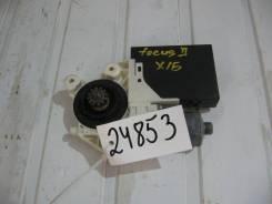 Мотор стеклоподъёмника передний правый Ford Focus II (Моторчик стеклоподъемника) [6m5t14b533ca]