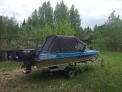 Казанка-5М3. 2006 год, длина 4,60м., двигатель подвесной, 55,00л.с., бензин