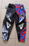 Штаны Thor S4 Volcom размер:34 черно красно синий