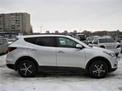 Для Hyundai Santa Fe 2016 г. в. литые диски или колеса и другое