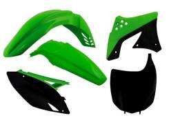 Комплект пластика R-Tech Kawasaki KX250F 09-12 (R-KITKXF-OEM-509) зеленый/черный