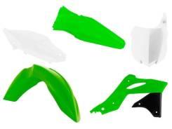 Комплект пластика R-Tech Kawasaki KX250F 13-16 (R-KITKXF-OEM-596) зеленый/черный/белый