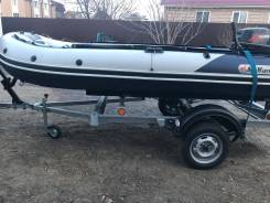 Продам лодку пвх Sun Marine 380+ Tohatsu 18