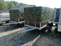 Прицеп Спец-05 с тентом (кузов 1,26 м * 2,50 м)
