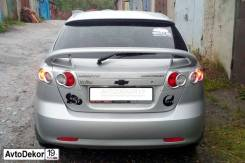 Накладки на задние фонари Chevrolet Lacetti (Шевроле Лачетти) хэтчбек