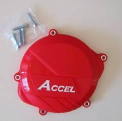 Защита крышки сцепления Accel CCP-102 Red Clutch Cover Protector CRF450R 09-15