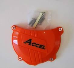 Защита крышки сцепления Accel CCP-501 Orange Clutch Cover Protector KTM 250/350/SX-F/EXC-F/FC/FE