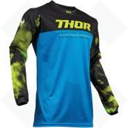 Джерси Thor S9 Pulse AIR Син/Черн размер: М 2910-4801