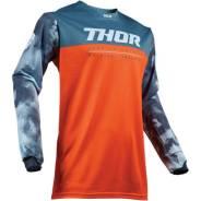 Джерси детская Thor S19Y Pulse Air Acid RED OR/S размер:2ХS 2912-1627