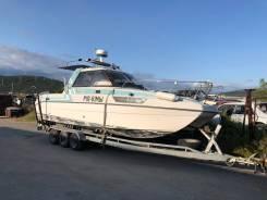 Продам лодку Nissan Suncat 7,7 Катамаран, длина 7,7 метра.