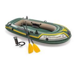 Надувная двухместная лодка Seahawk-200 SET