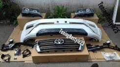 Комплект рестайлинга (перед) для Toyota LAND Cruiser 200 в стиле 2016+