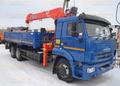 КамАЗ 65115. Камаз 65115 с манипулятором Kanglim 1256 (КМУ Kanglim), 6x4. Под заказ