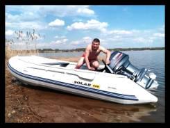 Продам лодку ПВХ Solar 420 Jet с мотором Yamaha 40