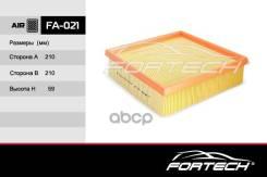 Фильтр Воздушный Fortech Fa-021 : Ваз Лада Инжекто Fortech арт. FA021