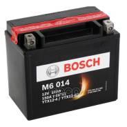 Аккумуляторная Батарея! Рус 10ah 90a 152/88/131 Ytx12-Bs Moto Bosch арт. 0092M60140 0 092 M60 140_