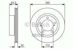 Диск Тормозной | Перед | Bosch арт. 0986479R29