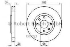 Диск Тормозной | Перед | Bosch арт. 0986478979
