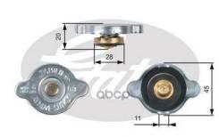 Крышка Горловины Радиатора 0,9 M/Pa Большой Клапан Gates арт. RC124