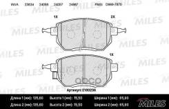 Колодки Тормозные (Смесь Semi-Metallic) Передние (Infiniti Fx35/45 03-/Nissan Murano 05-) (Без Датчика) (Trw Gdb3416) E100236 Miles арт. E100236