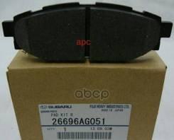 Колодки Тормозные Дисковые, Комплект 26696-Ag051 Subaru арт. 26696-AG051