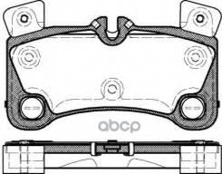 Колодки Дисковые З Vw Touareg 3.2-3.6i/3.0-5.0tdi, Porsche Cayenne 4.5-4.8i 02 Remsa арт. 1346.00 1346 00_!