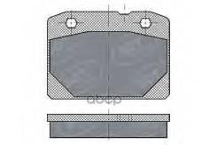 Тормозные Колодки (Комп.4шт) Sp102 Lada Nova(2105,2107), Жигули (01,011,.013) ((10шткор) Sct SCT арт. sp102