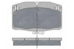 Тормозные Колодки (Комп.4шт) Sp105 Opel: Ascona, Corsa-A, Kadett-D, Kadett-E, Manta-B, Omega-A, Rec Sct SCT арт. SP105