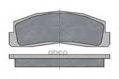 Тормозные Колодки (Комп.4шт) Sp179 Lada Niva 2121(21213, 21214, 21215) (10шткор) SCT арт. sp179