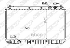 Радиатор Chery Tiggo 2.4 4g64 05- Sat арт. CH0001-MT