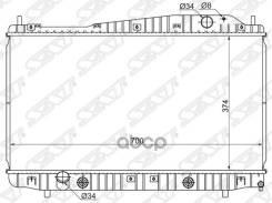 Радиатор Daewoo Magnus/Chevrolet Evanda 1.8/2.0 02-/Tosca/Epica 2.0/2.5 06- Sat арт. DW0002