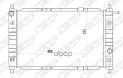 Радиатор Основной Daewoo Matiz (Klya) 0.8 98-01(Пластинчатый) Sat арт. DW0005