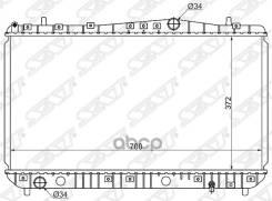 Радиатор Daewoo Nubira/Chevrolet Lacetti/Suzuki Forenza 1.4/1.6/1.8 03-(Трубчатый) Sat арт. SG-DW0004-MT