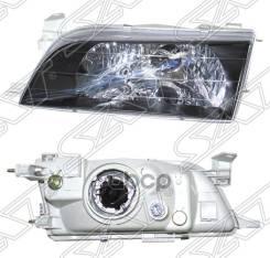 Фара Toyota Corolla 97-02 Черный Хрусталь Sat арт. ST-212-1193BL