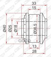 Сайлентблок Задней Поперечной Тяги Hr-V Sat арт. ST-52362-SF4-003