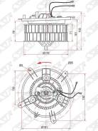 Мотор Отопителя Салона Mercedes E-Class W210 95-02 Sat арт. ST-A2108202442