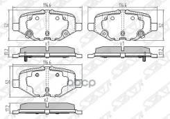 Колодки Тормозные Зад Ford Explorer 3/5 Sat арт. ST-DG1Z2200C