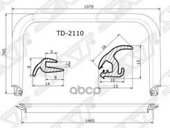 Молдинг Лобового Стекла Ваз/Lada 2110-2112 95-14 Sat арт. TD-2110