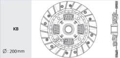 Диск Сцепления Valeo Y11, B15, G10 - Qg1#De '98- Valeo арт. NS-27