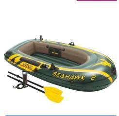 Лодка надувная Intex Seahawk 2 Set.
