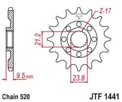 Звезда ведущая JTF 1441.14SC