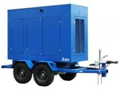 Дизельный генератор ТСС АД-100С-Т400-1РПМ19 на шасси