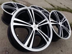 Black Polish style Lehrmeister R18 5*100! Только из ЯпонииВ идеале