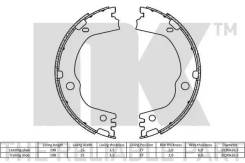 Колодки СТ. ТОРМ. Hyundai Santa FE/KIA Sorento 09- (10013160/270720/038416 2735834 NK [2735834]