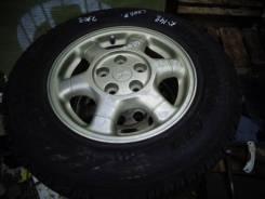 """Комплект литья Mitsubishi с резиной Dunlop 205/70/15. 6.0x15"""" 4x114.30 ET46"""