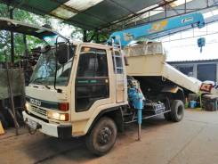 Isuzu Forward. Самосвал с краном , 7 127 куб. см., 5 000 кг., 4x2