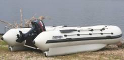 Лодка бу 4 метра с тентом, надувная нднд 400см